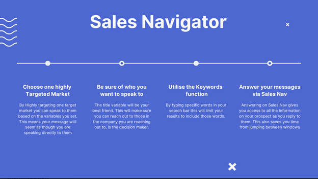 Building a Target Audience for Your LinkedIn Messages with Sales Navigator