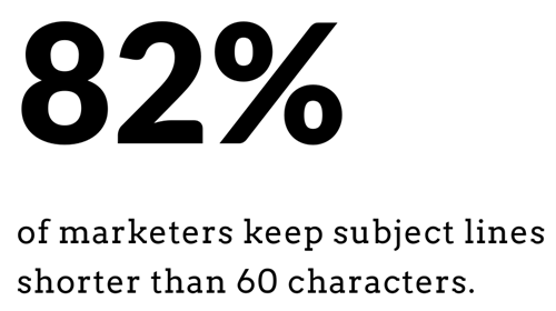 Keep LinkedIn message subject line under 60 characters